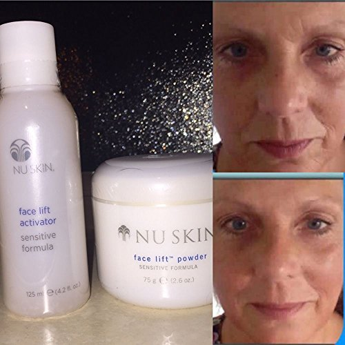 (NuSkin Nu Skin Face Lift with Activator - Original Formula - 2.6 Oz Powder 4.2 Oz Activator)