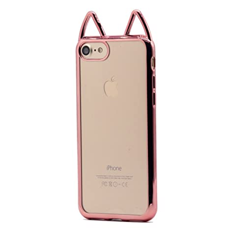 coque iphone 6 silicone rose gold