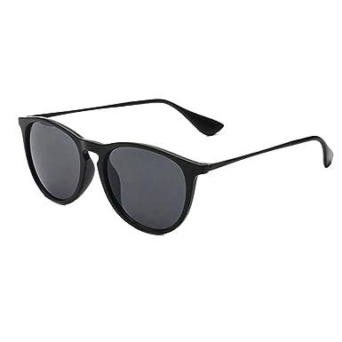 Zhuhaitf Fashion Vintage Star Sunglasses PC Anti-UV 400 Travel Vacation Retro Round Sunglasses for Men Dames S8EpGYRe