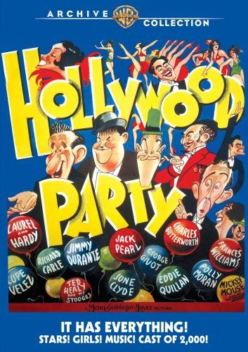 DVD : Hollywood Party (1934)
