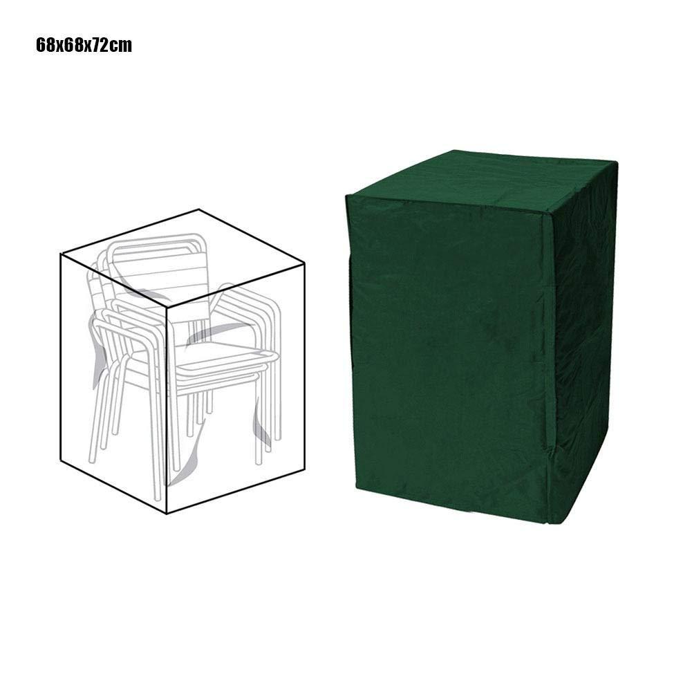 Ardentity Couverture Housse de Protection pour Empilables Housse pour Chaises de Jardin Imperm/éable Protection UV pour Meubles de Jardin