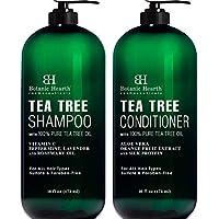2-Pack Botanic Hearth Tea Tree Shampoo and Conditioner Set