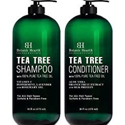 Botanic Hearth Tea Tree Shampoo and Cond...