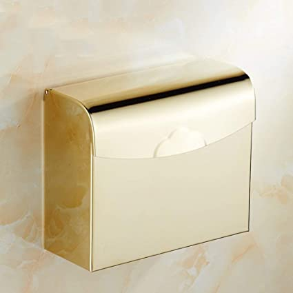 NAERFB Portarrollos,Baño,Impermeable,montado en la Pared Porta Toallas de Papel Papel