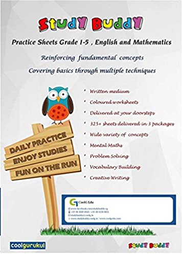 Buy StudyBuddy (Grade 5 Math) : Kids Practice Worksheet(Learning/Activity Book) for Class 5 ;CBSE/ICSE Syllabus Book Online at Low Prices in India ...