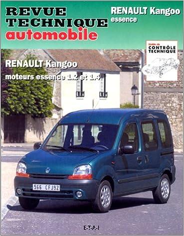 Livre Revue Technique Automobile 632.1 Renault Kangoo Essence pdf ebook