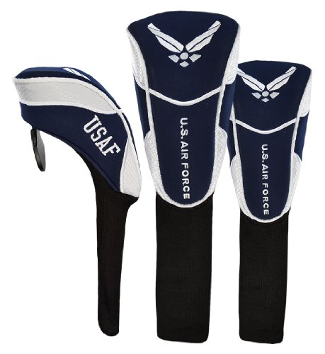 Hot-Z Golf US Military Air Force Headcover Set Air Force One Driver