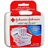 Johnson & Johnson First Aid To Go Mini First Aid Kit (Pack of 12 kits)