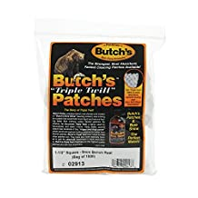 Butch's Bench Rest Twill Cleaning Patches (Bag-1000) (1-1/2-Inch)