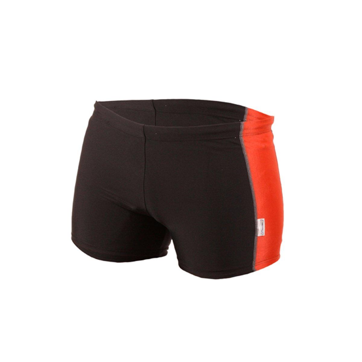 Stanteks Men's Swimming Trunks Black/Red Size: XXXL