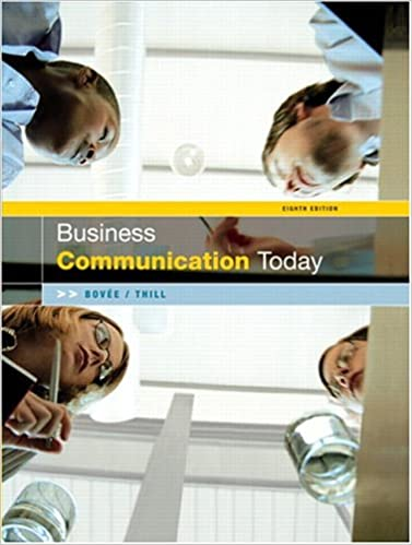 Business communication today 8th edition 9780131478459 business business communication today 8th edition 8th edition fandeluxe Gallery