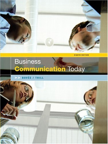 Business Communication Today (8th Edition)