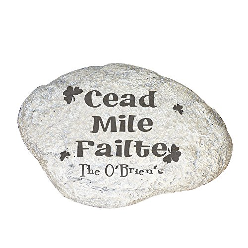 GiftsForYouNow Irish House Blessing Personalized Garden Stone, 11