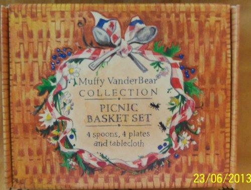 Muffy VanderBear Picnic Basket Set
