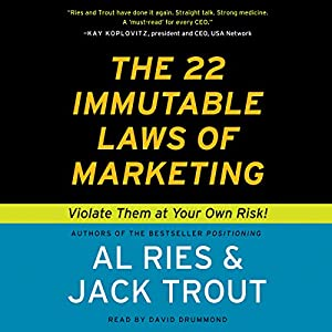 The 22 Immutable Laws of Marketing Hörbuch