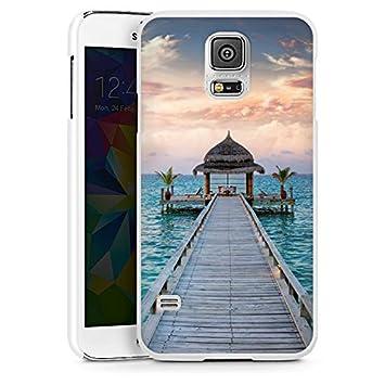 Carcasa Samsung Galaxy S2 Jetty vacaciones Ocean, Hard Case ...