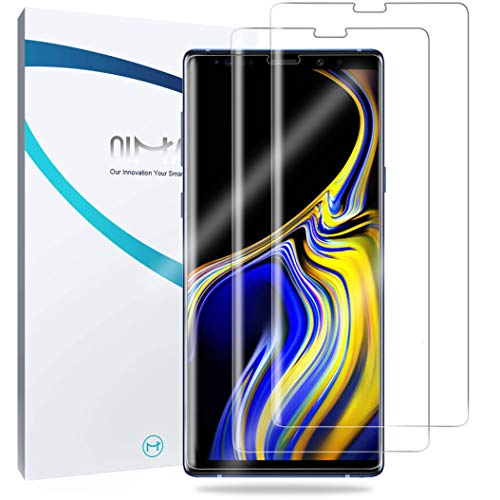 Galaxy Note 9 Screen Protector, 2-Pack QiMai Case Friendly Easy Install Screen Cover(Not Glass) Version