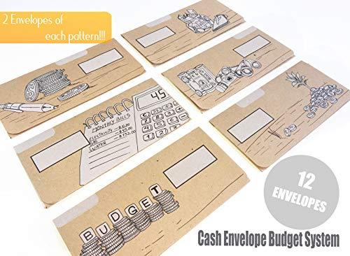 Buy money envelopes for budgeting
