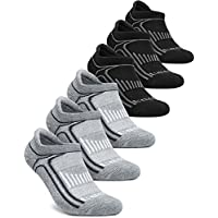 Tesla Men's 6-Pairs Athletic Sports Socks MZS Series