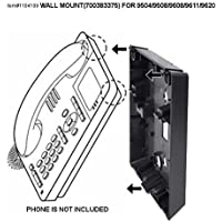 Wall Mount Kit for Avaya 9504, 9508, 9608, 9611, and 9620 Digital / IP Mountable Phones, Compatible to 700383375