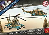 Team Yankee - Soviet Mi-24 Hind Helicopter Company (2) (15mm Scale) (tsbx04)