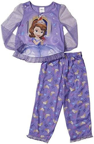 Disney Junior Sofia 2 Piece Set -Purple-4T