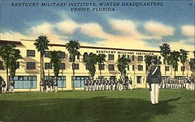 Kentucky Military Institute - Winter Headquarters Venice, Florida Original Vintage Postcard