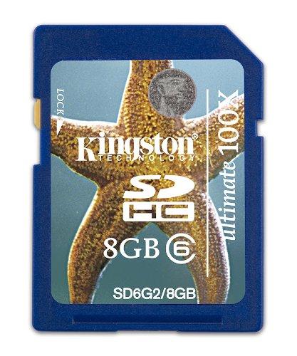 KINGSTON Ultimate Flash G2- Tarjeta de Memoria SDHC 8 GB ...
