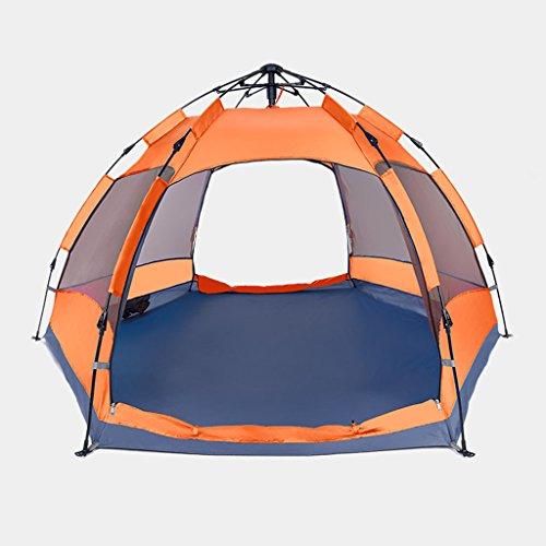国籍しおれた雇ったテント、屋外自動防雨キャンプ場ファミリーテント