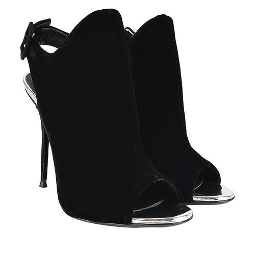 Elobaby Zapatos De TacóN Alto para Mujer Zapatos De Punta Abierta Toe Kitten TalóN Vestido Trabajo De Fiesta Bombas: Amazon.es: Zapatos y complementos