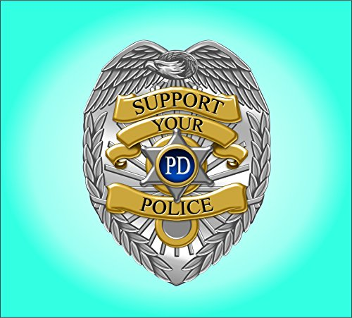 Vinyl Junkie Graphics Support Your Police Sticker/Decal ()