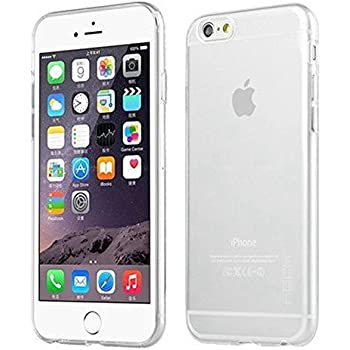 iPhone 6 Case, iPhone 6 (4.7 inch) NO5CASE Ultra Slim Crystal Clear Soft Gel Case Shock Absorbing Flexible Transparent Cover (Clear)