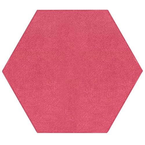 Amazon Com Bright House Solid Color Hexagon Shape Area