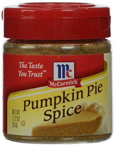 McCormick  Pumpkin Pie Spice (Pumpkin Flavored Fall Spice), 1.12 -
