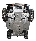 10-Piece Complete Aluminum or UHMW Skid Plate Set, Polaris Ranger 570 Full Size