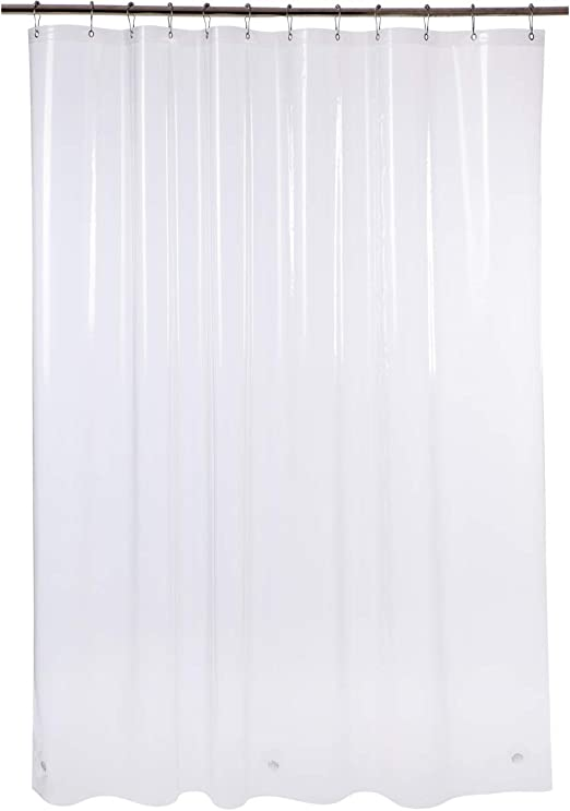 NEW HEAVY DUTY  SHOWER CURTAIN LINER all colors usa free shipping