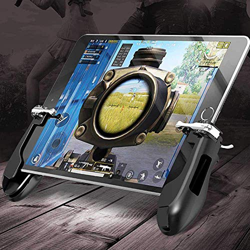 eLUUGIE Mobile Trigger Controller for Fortnite PUBG Tablet iPad/Android Tablet Game ControllerMobile Gamepad Holder Mobile Game Grip Mobile Aim Trigger Button for 5.5~12.9 inch Tablet (Best Contraction App 2019)