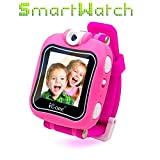iCore Game Kids Smart Watch, Video Camera Smartwatch Plus Electronic Toy (pink)