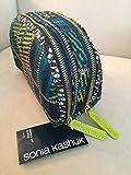 Sonia Kashuk Double Zip Clutch Makeup Bag - Plaid