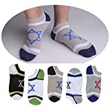 SUSocks Cotton Men's Socks Liner No Show Best (5 Pair) Ankle Socks
