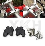 #4: XKH- Black Handlebar Extension Riser Mount Lifting For Honda CB500X NC700S/X NC750X