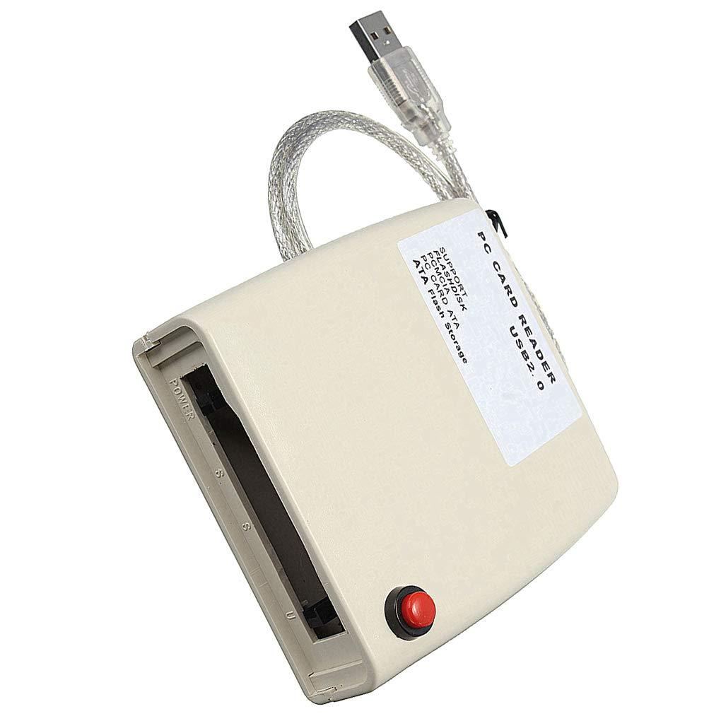 Ben-gi Adaptador de Tarjeta PCMCIA USB ATA PCMCIA de Memoria Flash del Disco del Lector de Tarjetas del convertidor del Adaptador USB del Ordenador LXT a 68 Pines