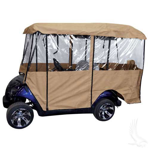 DELUXE 4 SIDED GOLF CART ENCLOSURE (FOR 88