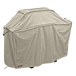 Classic Accessories Montlake FadeSafe Grill Cover - Heavy-Duty BBQ Cover with Solution-Dyed Reinforced Fade-Resistant Fabric and, Medium, 58-Inch