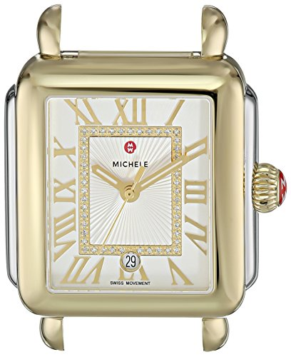 MICHELE-Womens-Deco-Madison-Head-Swiss-Quartz-Stainless-Steel-Casual-WatchModel-MW06T00C9018
