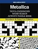 Metallica Trivia Crossword Word Search A...