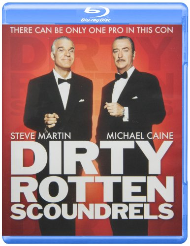 Blu-ray : Dirty Rotten Scoundrels (Widescreen, Digital Theater System, AC-3, Dolby)