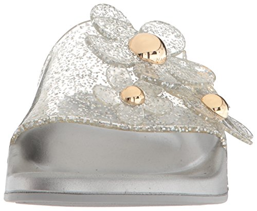 Aqua Daisy Frauen Sandal Marc Slide Silver Jacobs x0wgpqqzF