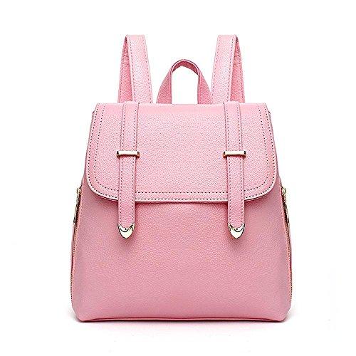 Aoligei Femmes sac à dos version coréenne fashion Girl sac école vent lady sac voyage sac à dos D