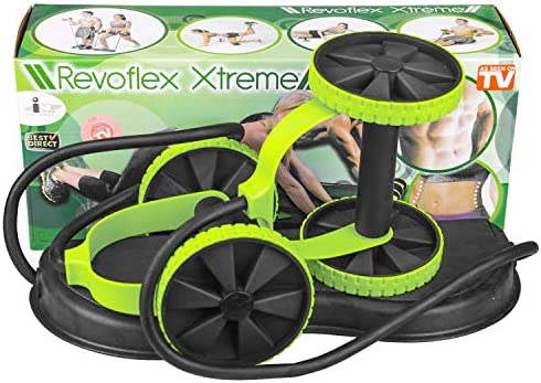 KAZOLEN Double Ab Roller Wheel, Home Gym Workout Equipment Core Abdominal Exercise Fitness Trainer 5